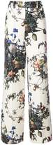 ADAM by Adam Lippes printed wide leg trousers