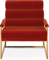 Jonathan Adler Channeled Goldfinger Lounge Chair