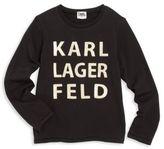 Karl Lagerfeld Toddler's, Little Girl's & Girl's Logo Tee
