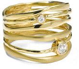 Ippolita 18K Gold Stardust Movie Star Six-Band Ring with Diamonds