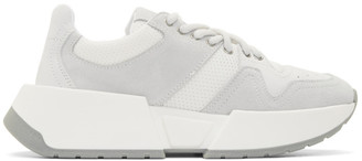 MM6 MAISON MARGIELA Blue and White Chunky Sneakers