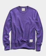 Todd Snyder + Champion Reverse Weave Crew in Royal Purple