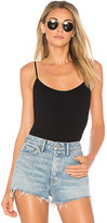 Only Hearts Low Back Thong Bodysuit in Black. - size L (also in S)