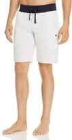 Emporio Armani Slub Jersey Bermuda Lounge Shorts
