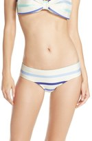 Kate Spade Women's Stripe Hipster Bikini Bottoms