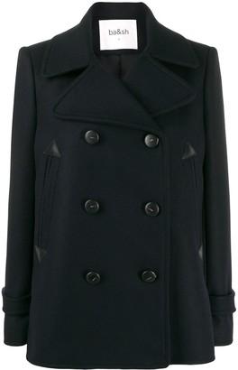 BA&SH Maria double breasted coat