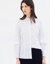 SABA Bernie Ruffle Shirt