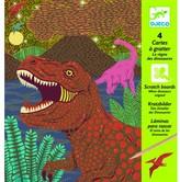 Djeco Dinosaur Queen Scratch Card