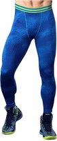 Deeron Mens Base Layer Legging Tight Sport Workout Runnig Jogging Fitness Trak Pants (L, )