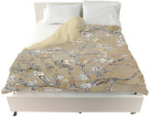 """Oliver Gal The Artist Co. Van Gogh in Gold Blossoms Inspiration"""" Duvet Cover, Queen"""