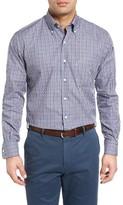 Peter Millar Men's Voyage Regular Fit Plaid Sport Shirt