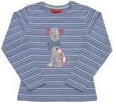Salt&Pepper SALT AND PEPPER Girl's Longsleeve Cats & Dogs Stripe Pyjama Bottoms