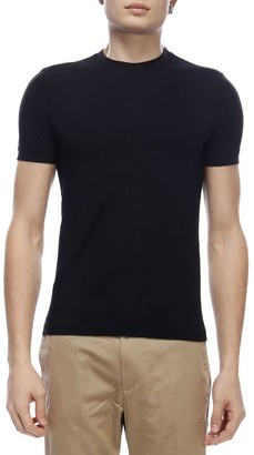 Giorgio Armani T-shirt Crew-neck T-shirt In Basic Stretch Viscose Jersey