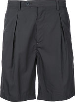 Factotum pleated shorts - men - Cotton/Lyocell - 44