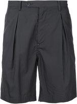 Factotum pleated shorts - men - Lyocell/Cotton - 44