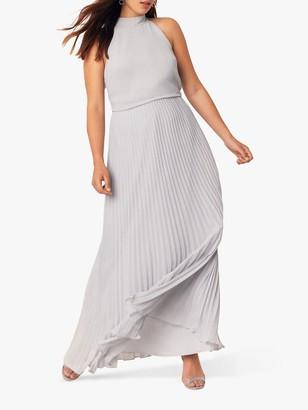 Oasis Megan Pleated Maxi Dress