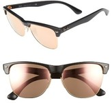 Ray-Ban Men's 'Highstreet' 57Mm Sunglasses - Brown/ Pink