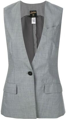 Jean Paul Gaultier Pre Owned Deep Neck Waistcoat