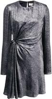 Saint Laurent gathered front mini dress