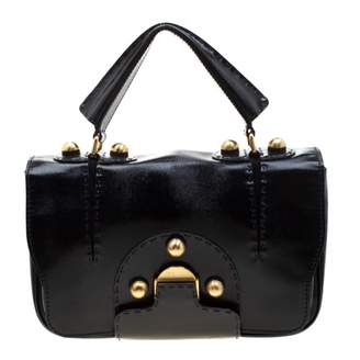Fendi Black Patent leather Handbags