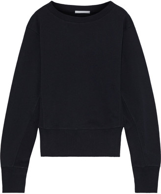 Helmut Lang Femme French Cotton-terry Sweatshirt