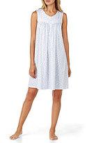 Eileen West Scroll-Print Jersey Nightgown