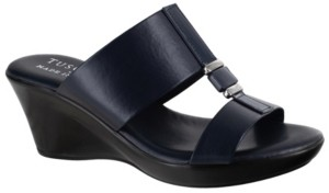 Easy Street Shoes Tuscany by Benita Wedge Sandals Women's Shoes