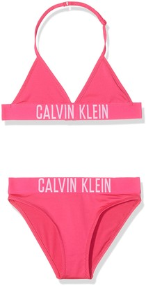 Calvin Klein Girl's Triangle Bikini Set Swimwear