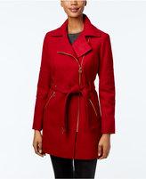 MICHAEL Michael Kors Asymmetrical-Zip Walker Coat