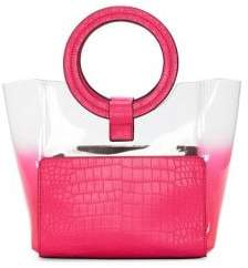 Vince Camuto Ombre PVC Tote