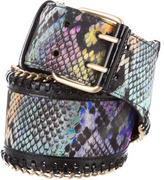 Matthew Williamson Chain-Embellished Waist Belt