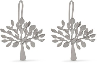 Mulberry Tree Dropped Earrings Silver Sterling Silver