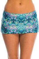 Kenneth Cole Reaction Scarfs on Deck Skirt Bikini Bottom 8139364