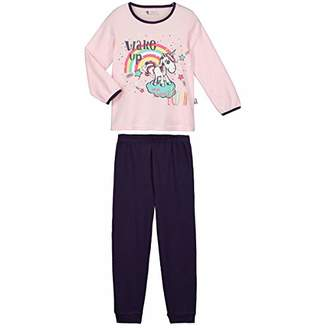 Camilla And Marc Girls Long Sleeve Pajamas Unicorn Small - Size 2/3 Years (92/98 cm)