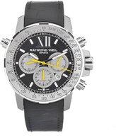 Raymond Weil Men's 7800-Tir-00207 Automatic Titanium Dial Chronograph Silver Dial Watch