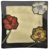 Pfaltzgraff Painted Poppies Square Plate