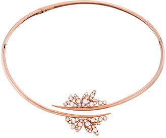 Hearts On Fire 18K Rose Gold 2.3 Ct. Tw. Diamond White Kites Feathers Necklace