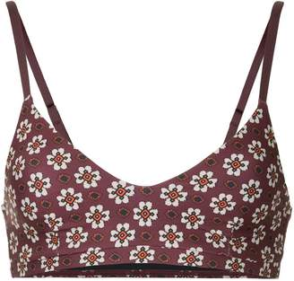 The Upside printed bra top