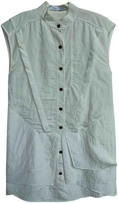 Proenza Schouler White Silk Dresses