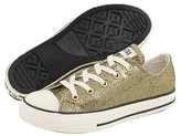 Converse Kids - Chuck Taylor REG All StarREG Holiday Glitter Ox (Toddler/Youth) (Champagne/Milk/Glitter)