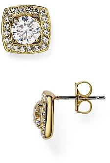 Nadri Swarovski Crystal Stud Earrings
