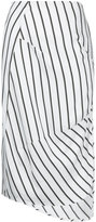 Bassike stripe dart detail skirt