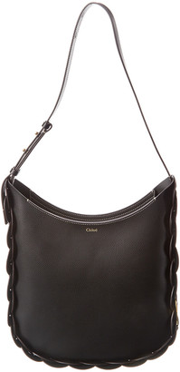 Chloé Darryl Medium Smooth Leather Hobo Bag