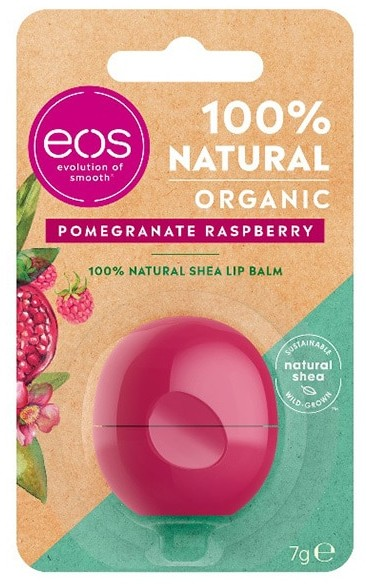 eos Organic Pomegranate Raspberry Sphere Lip Balm 7g