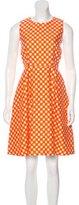 Kate Spade Gingham A-Line Dress