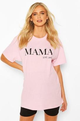 boohoo Maternity Mama Est 2020 T-Shirt
