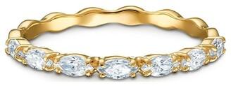 Swarovski Vittore Marquise Ring - White - Gold-tone