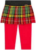 Junior Gaultier Mini skirt with fitted leggings