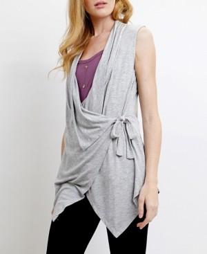 Coin 1804 Womens Light Weight Wrap Vest