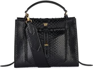 Tom Ford Small Python Top-Handle Bag